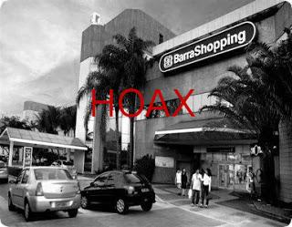 Hoax Aconteceu no Barra Shopping GRAVÍSSIMO - CUIDADO