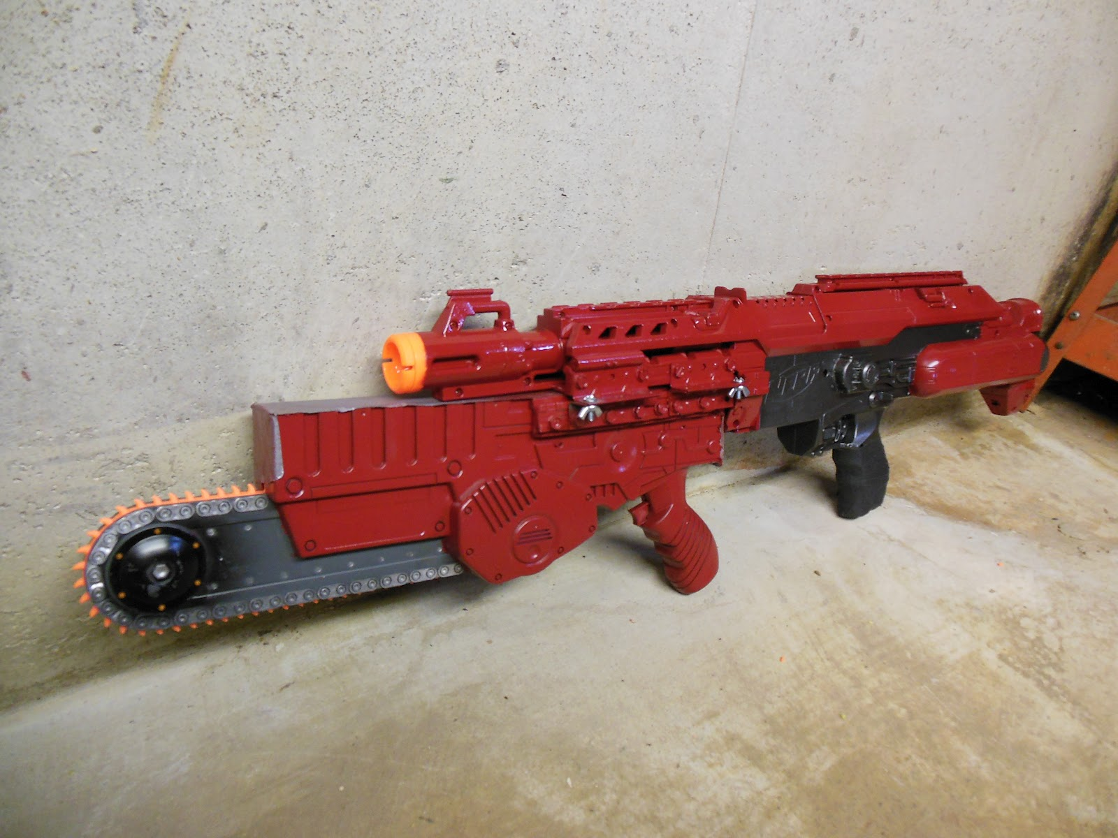 Lasagna678 Nerf Mods: Stampede with Interchangeable ...