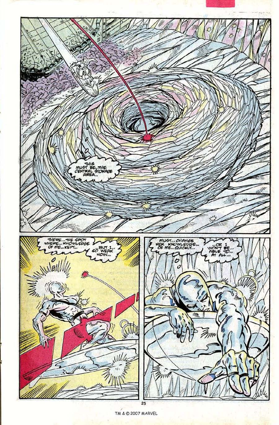 Read online Silver Surfer (1987) comic -  Issue #24 - 27