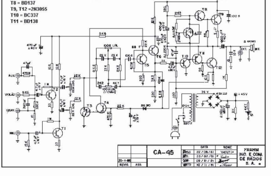 FRAHM CA-45 TIP41-42