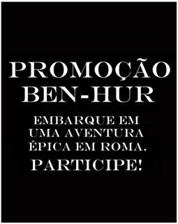Promoção Ben-Hur Rádio Transamérica -