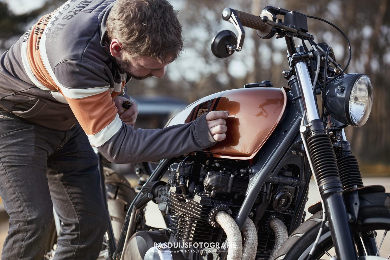 Kawasaki Z650 By Wrench Kings