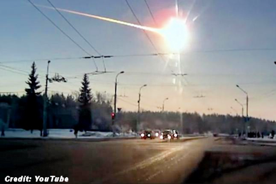 Meteor That Exploded Over Chelyabinsk, Russia, In 2013