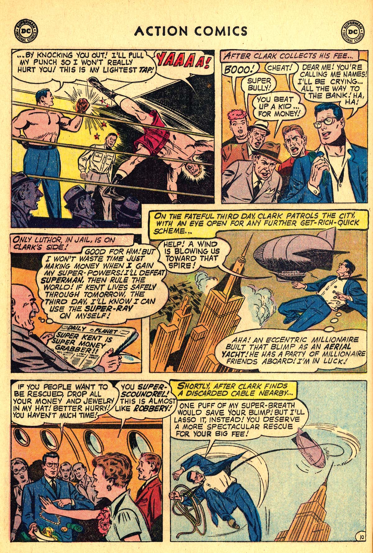 Read online Action Comics (1938) comic -  Issue #257 - 12