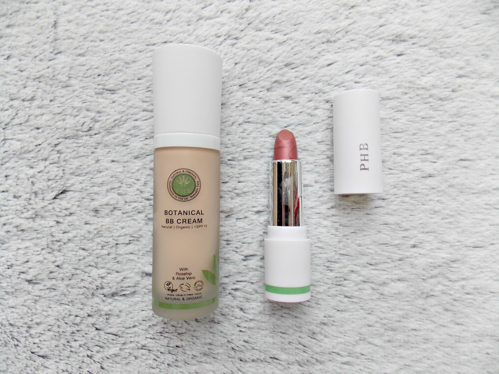 PHB BB Cream & Lipstick