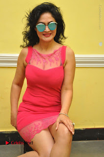 Telugu Actress Vijaya Murthy Stills in Red Short Dress at Www.Meena Bazaar Movie Opening  0070.JPG
