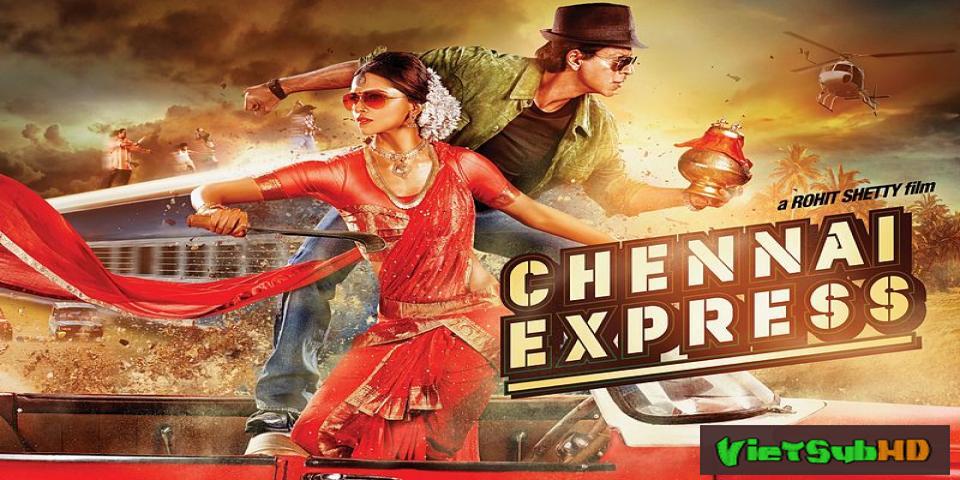 Phim Hành Trình Tình Yêu VietSub HD | Chennai Express 2013