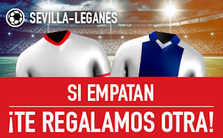 sportium promocion Sevilla vs Leganes 7 febrero