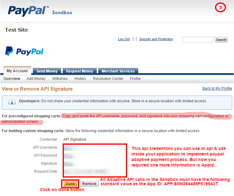 PayPal Refund Adaptive Chained Payment ~ EDUDOTNET