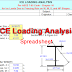 ICE Load Analysis on Structural Steel Calculator | Spreadsheet