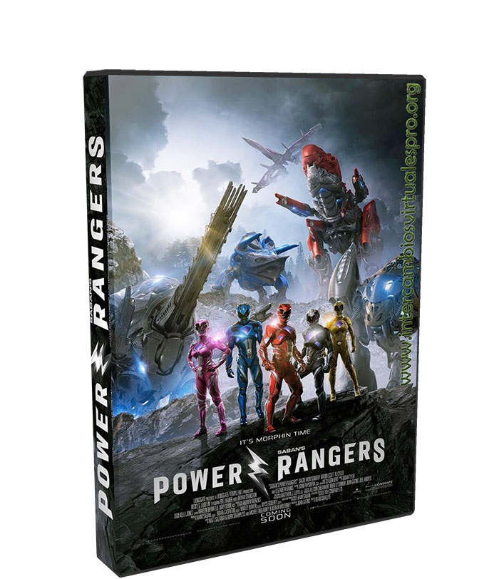 power rangers poster box cover
