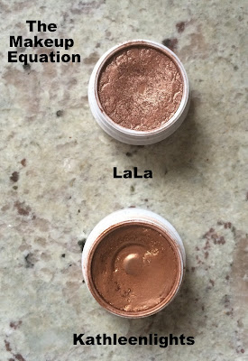 ColourPop Cosmetics LaLa and Kathleenlights eyeshadow