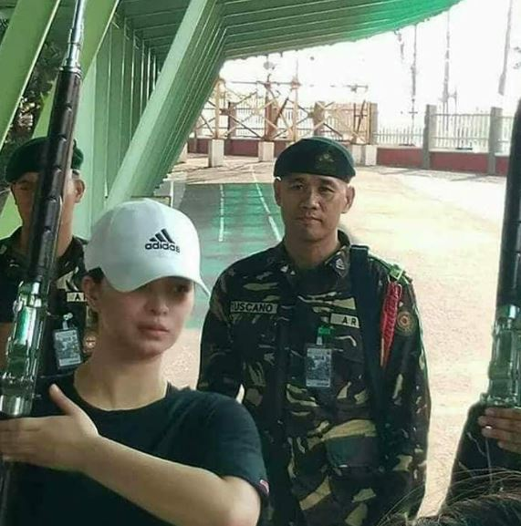"Angel Locsin Undergoes Another Training For ""The General's Daughter"""
