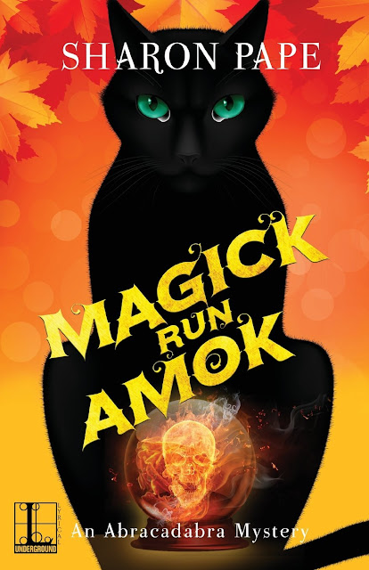 Magick Run Amok, by Sharon Pape