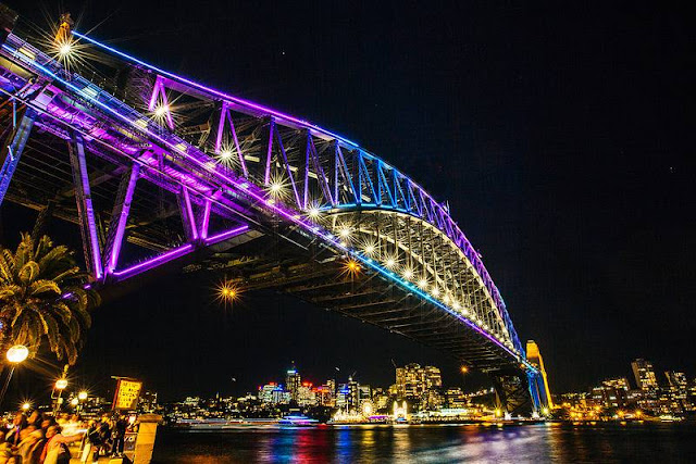 Vivid Sydney - Sydney Harbour Bridge