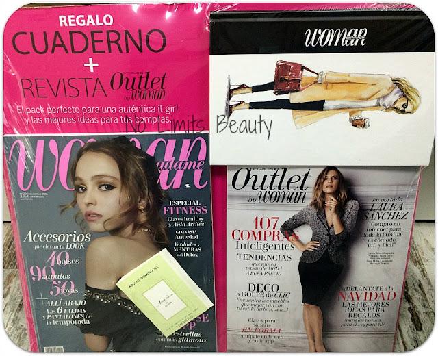 Regalos revistas noviembre 2016: Woman