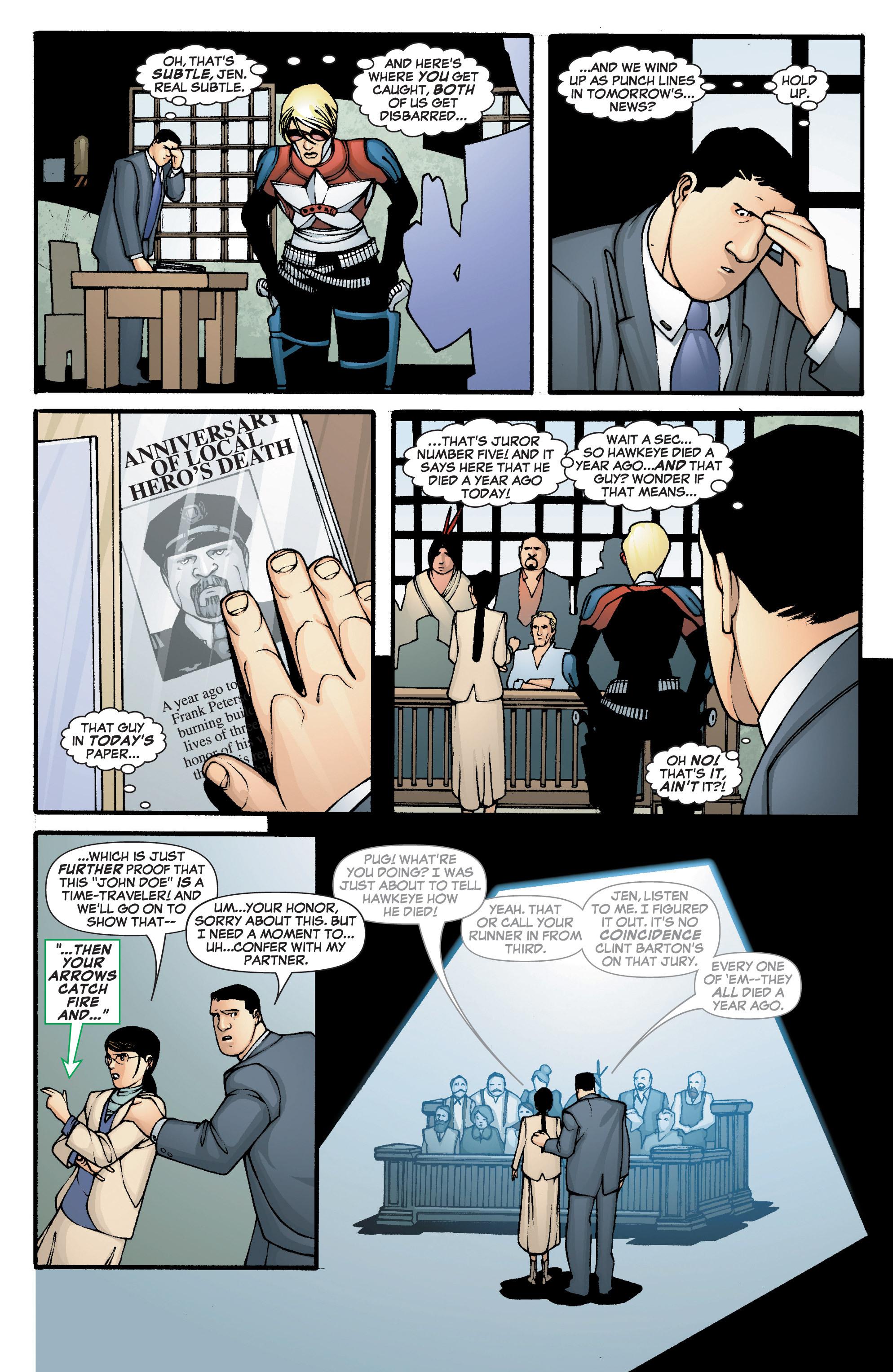 Read online She-Hulk (2005) comic -  Issue #2 - 11
