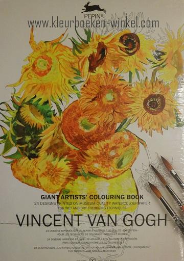 kleurboeken voor volwassenen,  kleurboek GK 05 vincent van gogh