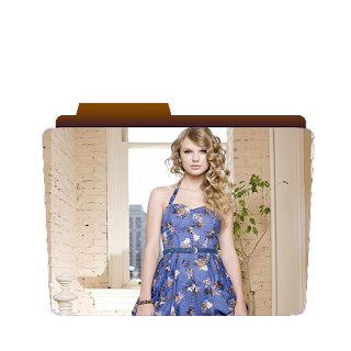 Preview of Taylor Swift, Blue Dress, Wallpaper Folder icon