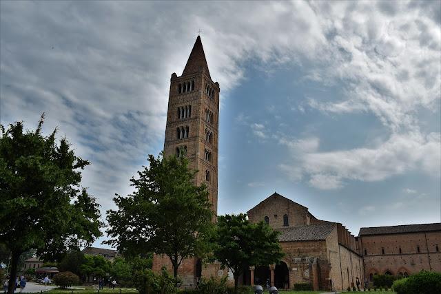 Il campanile della Abbazia di Pomposa