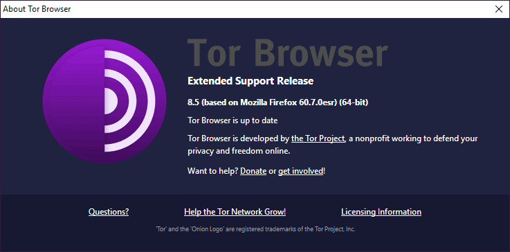 Disponible Tor Browser 8.5: correcciones de seguridad y versión estable para Android