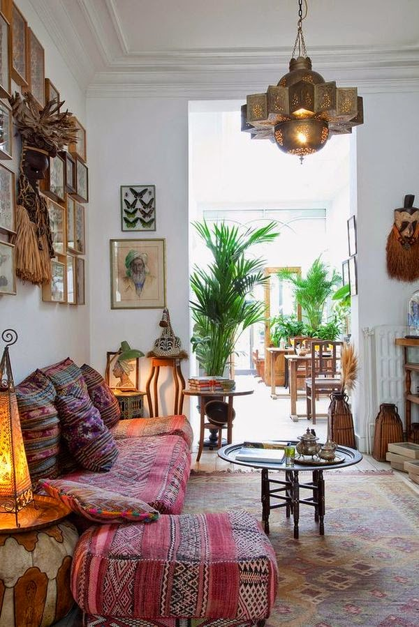 Moroccan Decoration Living Room: Moon To Moon: Inspiration: Moroccan Interior Design
