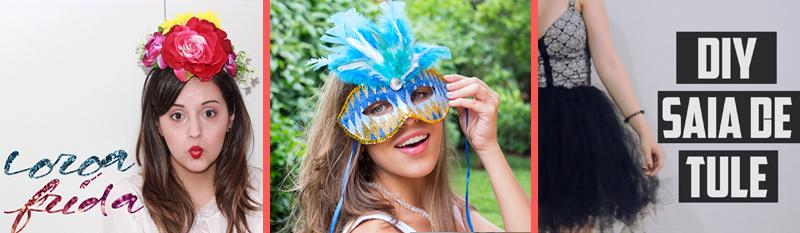 adereço de carnaval, fantasia improvisada de carnaval, pap, faça você mesmo, coroa Frida Kahlo,máscara de carnaval, saia de tule