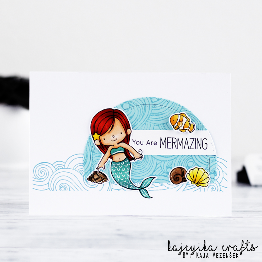 Adorable mermaid
