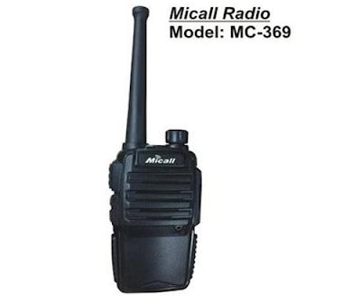 Máy bộ đàm cầm tay Micall MC-369 giá rẻ