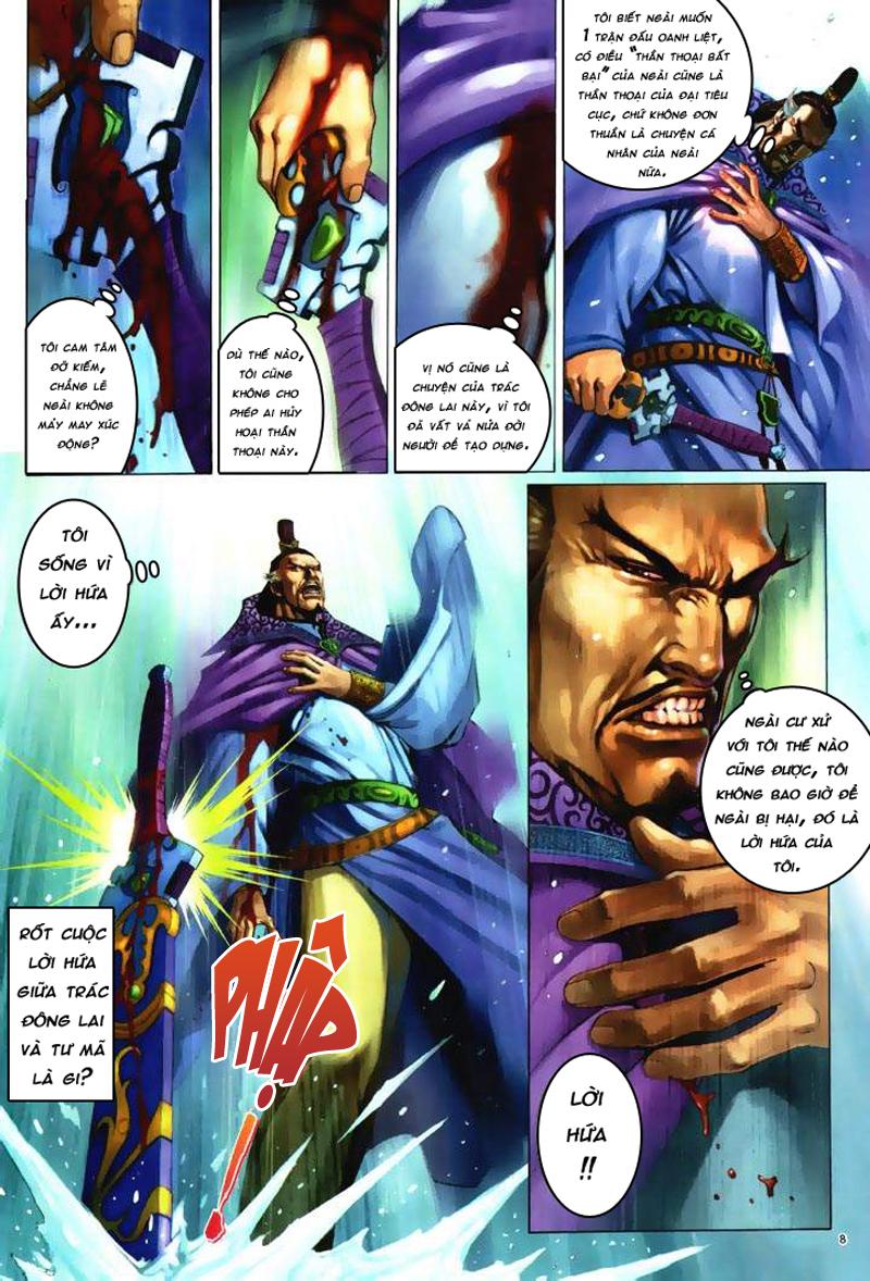 Anh hùng vô lệ Chap 6: Anh hùng hữu lệ trang 8