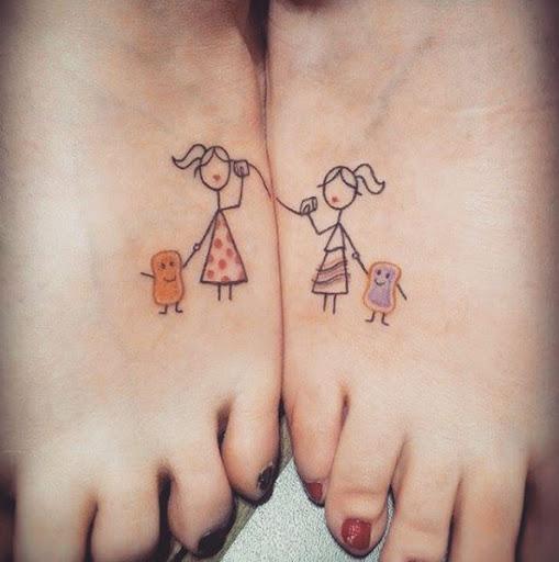 Esta linda pé tats
