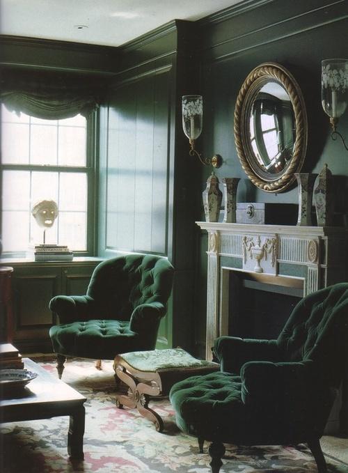 Chesterfield Sofa Bed Grey Velvet Billige Sofaer Lagersalg Norge Eye For Design: Decorating With Emerald Green