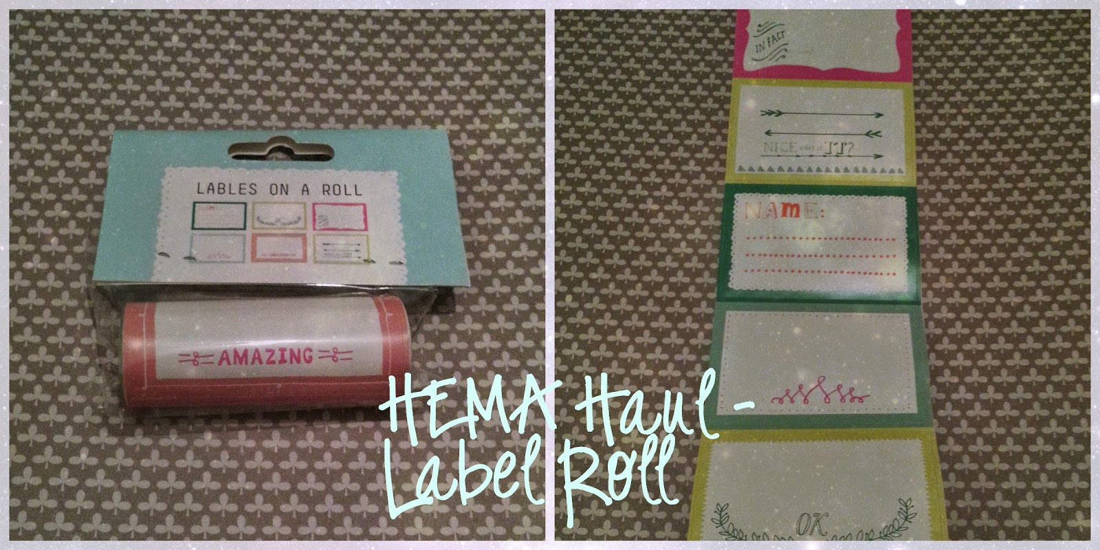 HEMA sticky labels