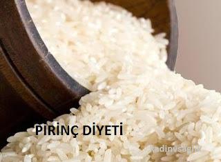 Pirinç Diyeti