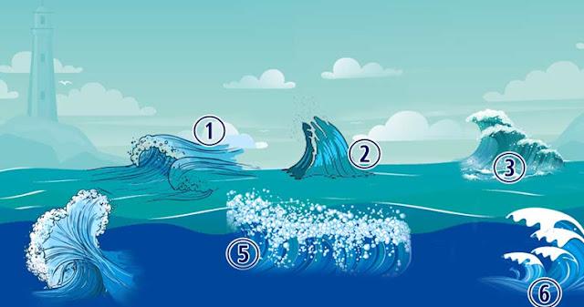 Психологический тест: выберите морскую волну! Фото эмоции удивительное Тест Психология