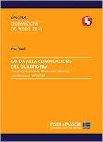 Guida alla compilazione del Quadro RW: Investimenti e attività finanziarie all'estero, monitoraggio IVIE/IVAFE