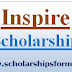 Inspire Scholarship 2018-19 Application Form, Inspire Scholarship Scheme, Last Date