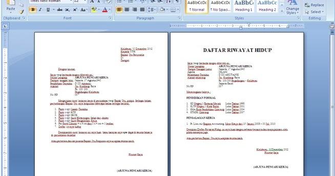 Tips Cara Menulis Surat Lamaran Di Email