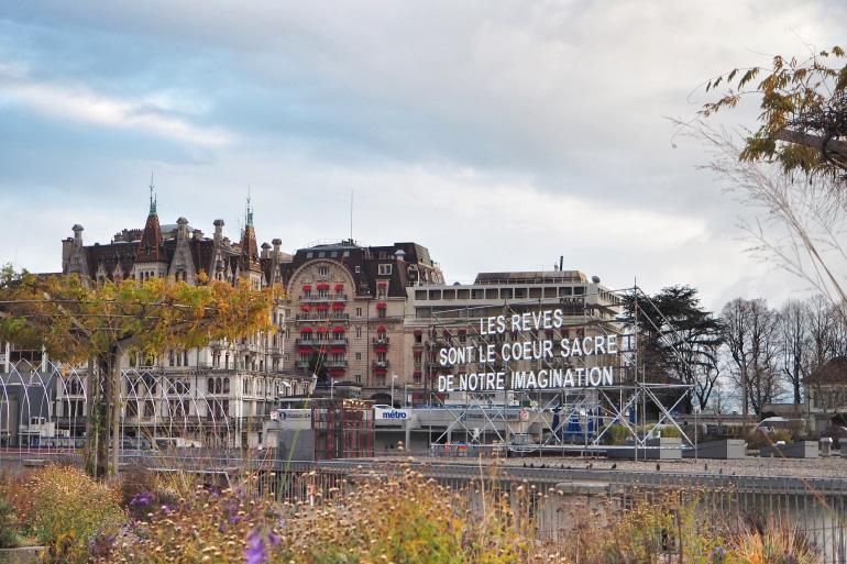 Ville de Lausanne en Suisse