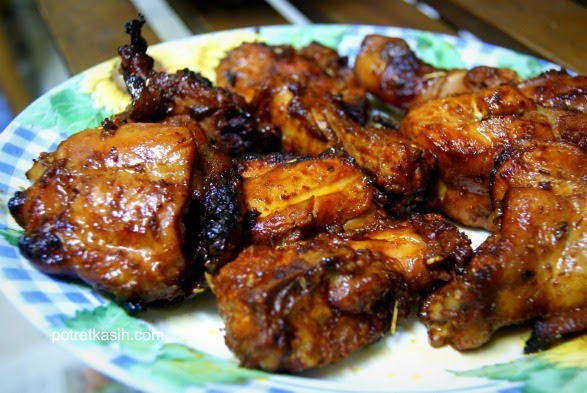 Nurkilan Sagong Nyior: RESEPI AYAM BBQ