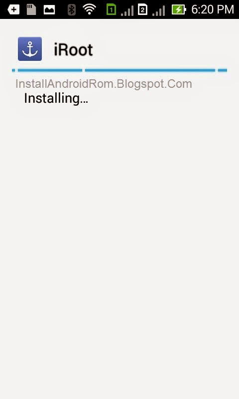 Installing iRoot Android