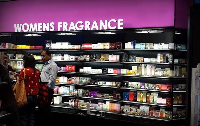 Compras de perfume em Los Angeles