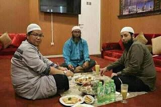 Ustadz Firanda Andirja, Ustadz Nizar Sa'ad Jabal, dan Ustadz Khalid Basalamah