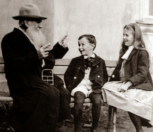 Tolstoy's belief in education and learning for all