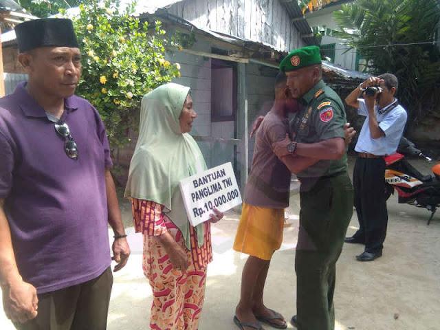 Panglima TNI, Hadi Tjahjanto Bantu Muhammad Reza Manggar