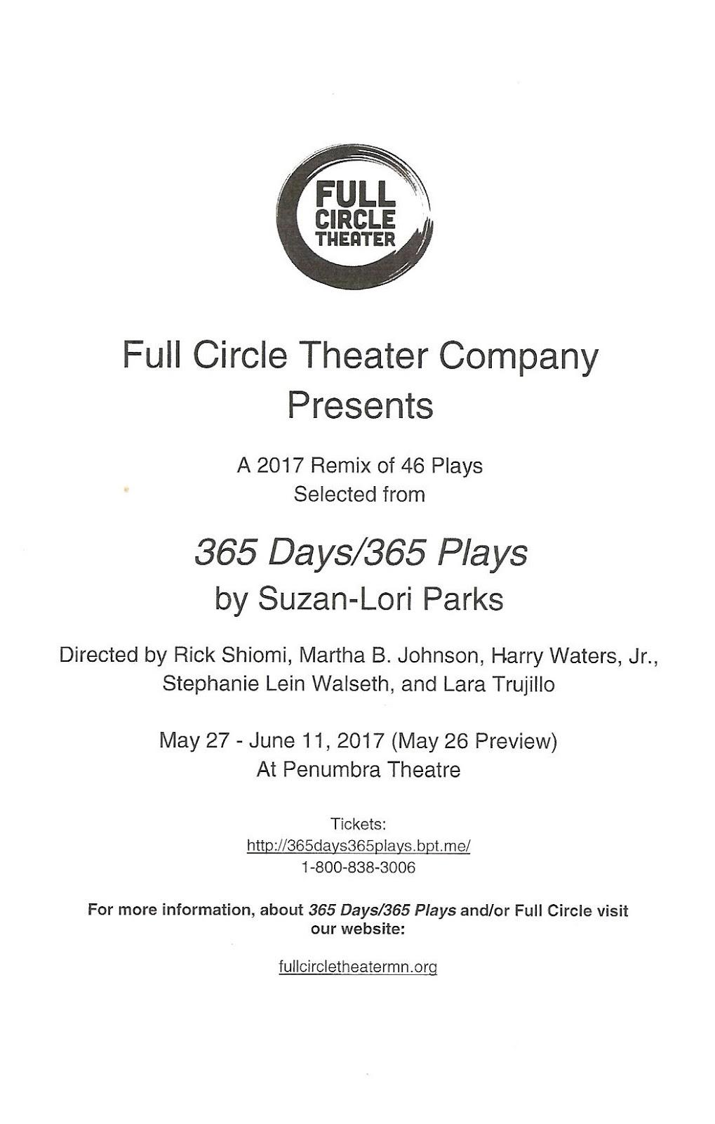 365 Days / 365 Plays
