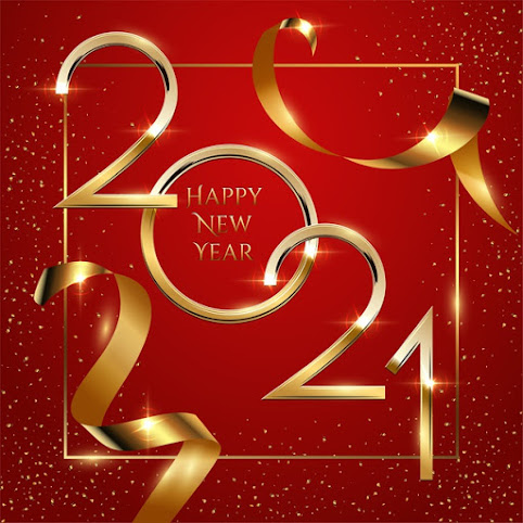 Christmas and Happy New Year 2021 Greeting