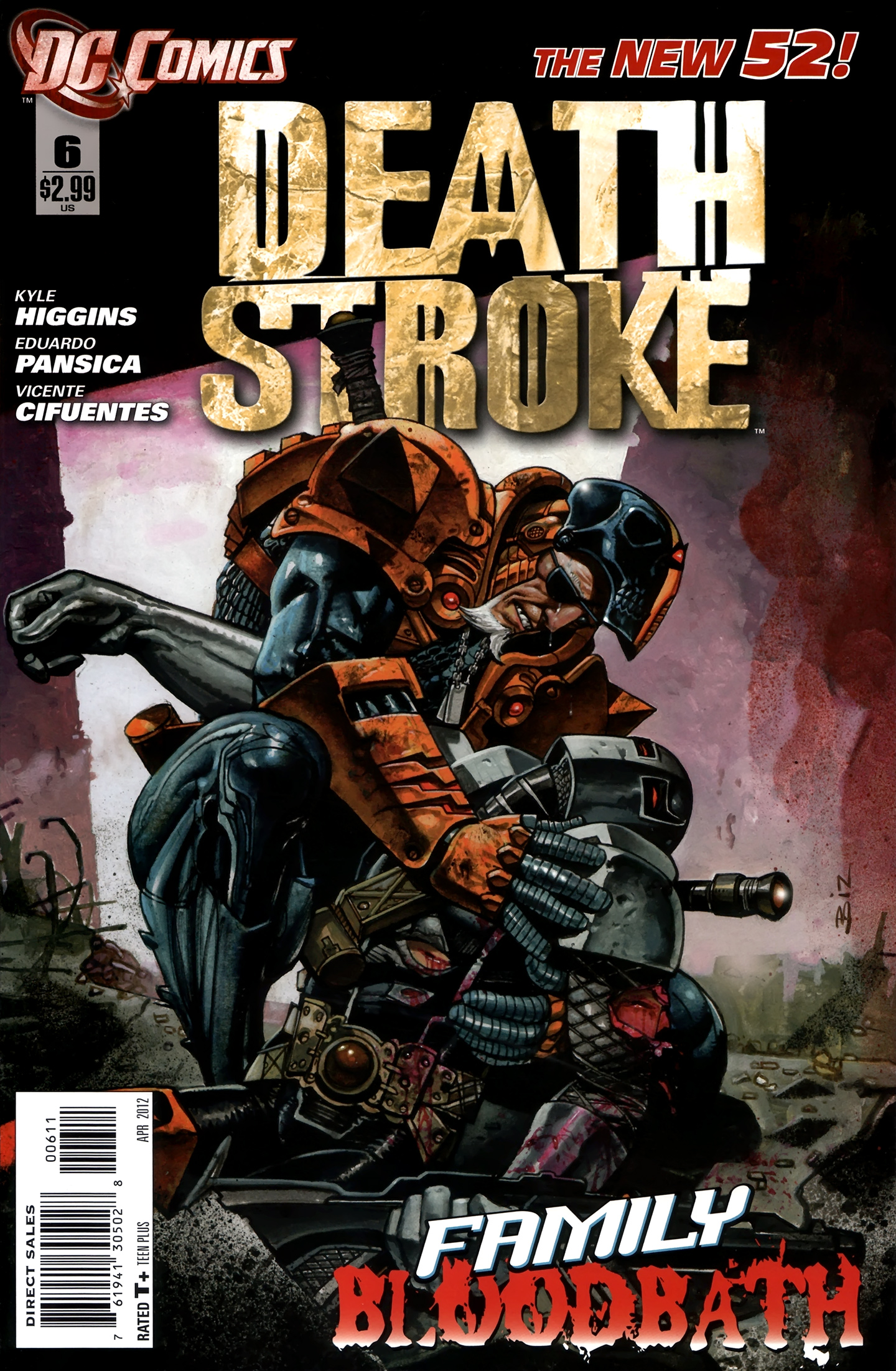 Deathstroke (2011) issue 06 - Page 1
