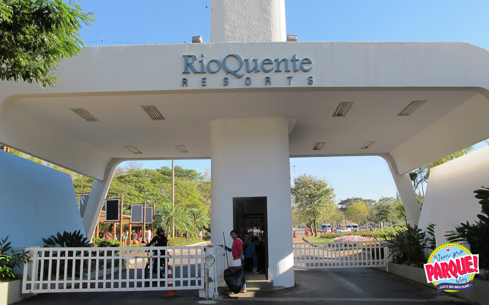Hospedagem no Rio Quente Resorts em Goiás