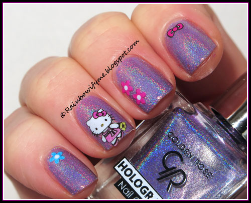 Golden Rose ~ Holographic Nail Colour #05